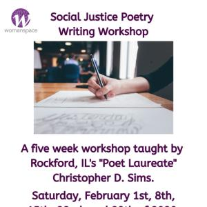 Social Justice Poetry Workshop
