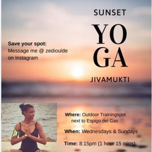 Sunset Jivamukti Yoga